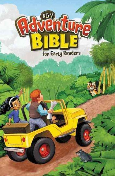 NIrV, Adventure Bible for Early Readers, Hardcover cover