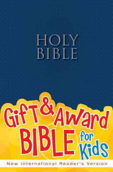 NIrV, Gift and Award Bible, Paperback, Blue cover