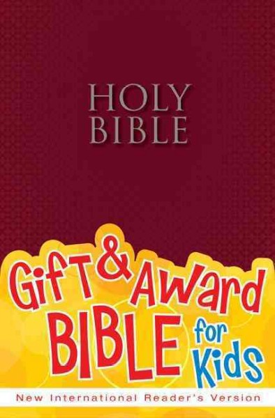 NIrV, Gift and Award Bible, Paperback, Burgundy cover