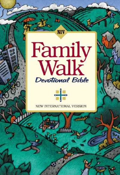 Family Walk Devotional Bible cover