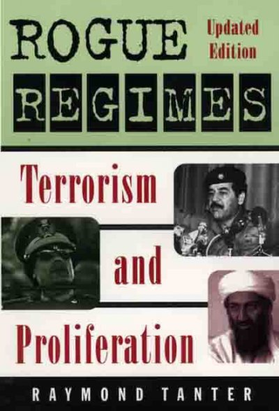Rogue Regimes: Terrorism and Proliferation cover