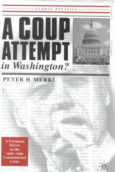 A Coup Attempt in Washington: A European Mirror on Our Recent Constitutional Crisis cover