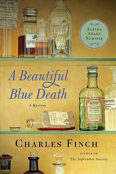 A Beautiful Blue Death: The First Charles Lenox Mystery (Charles Lenox Mysteries) cover