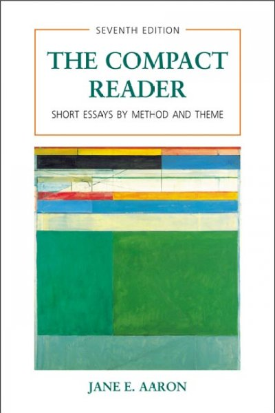 The Compact Reader: Short Essays by Method and Theme cover