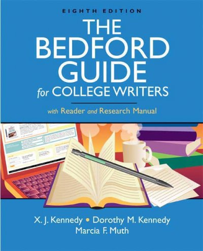 The Bedford Guide for College Writers with Reader and Research Manual cover