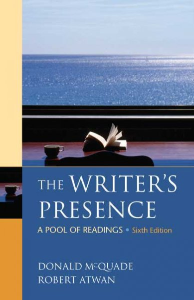 The Writer's Presence: A Pool of Readings cover