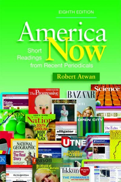 America Now: Short Readings from Recent Periodicals cover