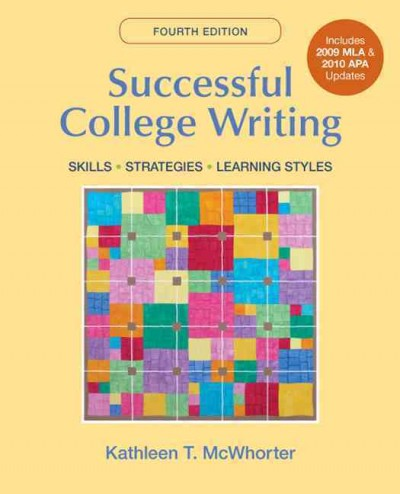 Successful College Writing with 2009 MLA and 2010 APA Updates cover
