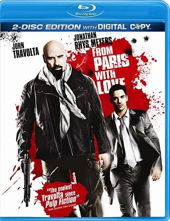 From Paris with Love [Blu-ray] cover