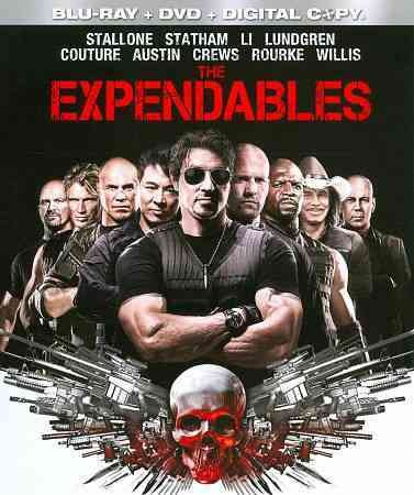 The Expendables [Blu-ray + DVD + Digital Copy] cover