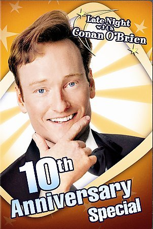 Late Night with Conan O'Brien 10th Anniversary Special cover