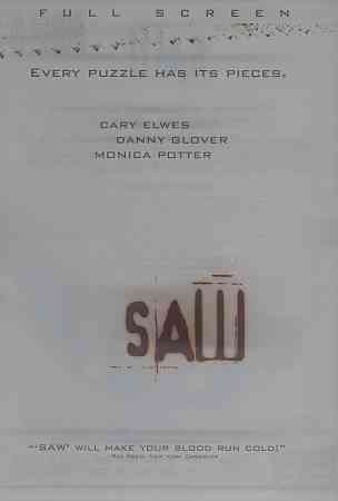 Saw (Full Screen Edition) cover