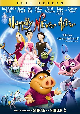 Happily N'ever After (Full Screen Edition) cover