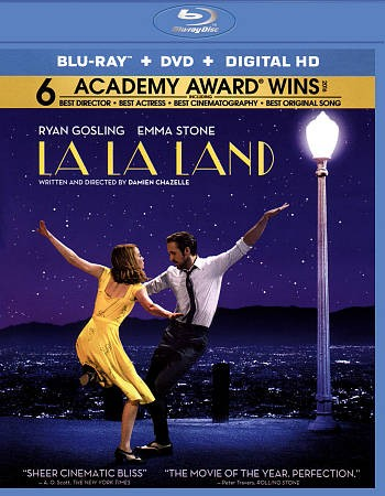 La La Land [Blu-ray + DVD + Digital HD] cover