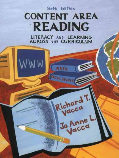 Content Area Reading: Literacy and Learning Across the Curriculum cover