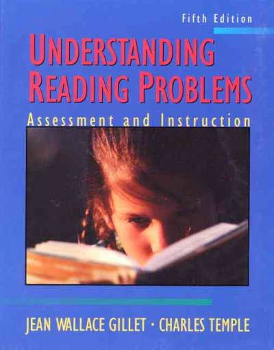 Understanding Reading Problems: Assessment and Instruction (5th Edition) cover