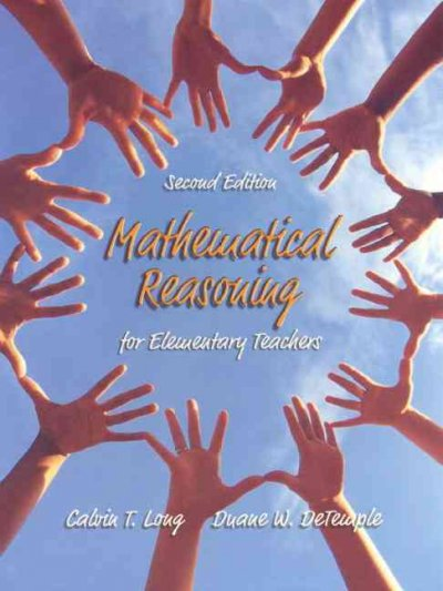 Mathematical Reasoning for Elementary Teachers (2nd Edition) cover