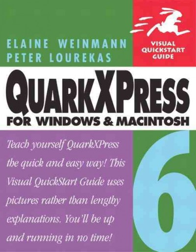 QuarkXPress 6 for Windows & Macintosh cover