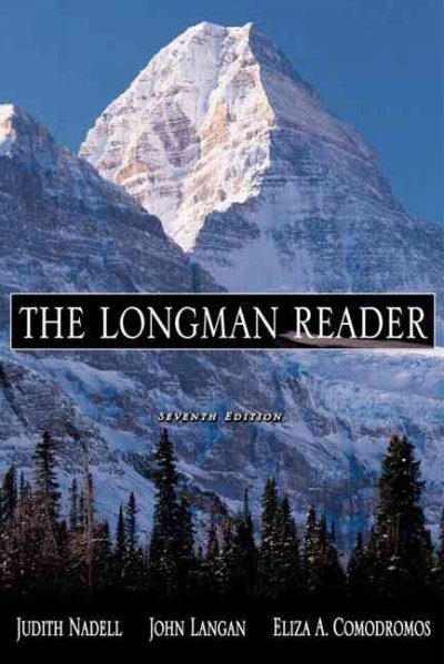 The Longman Reader, 7th Edition cover