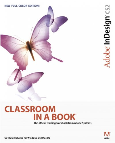 Adobe InDesign CS2 Classroom In A Book cover