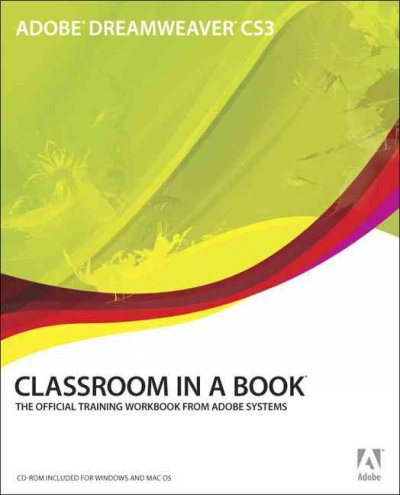 Adobe Dreamweaver CS3 Classroom in a Book cover