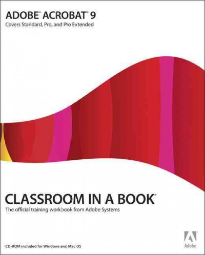 Adobe Acrobat 9 Classroom in a Book cover