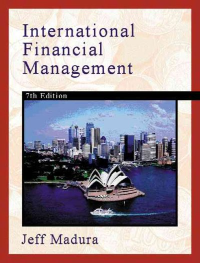 International Financial Management (Book and CD, Seventh Edition) cover