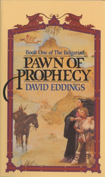 Pawn of Prophecy (Belgariad) cover