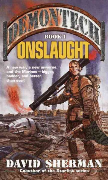 Onslaught (Demontech, Book 1) cover