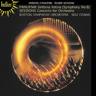 Panufnik: Symphony No.8; Sessions: Concerto for Orchestra