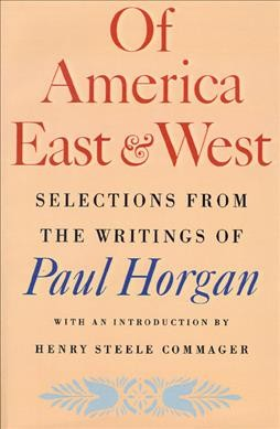 OF AMERICA EAST AND WEST cover