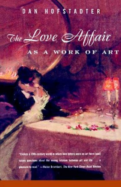The Love Affair as a Work of Art cover