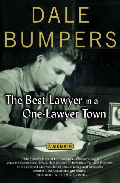 The Best Lawyer in a One-Lawyer Town: A Memoir cover