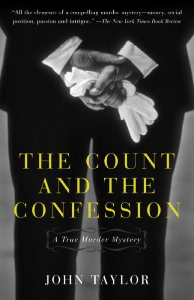 The Count and the Confession: A True Murder Mystery cover