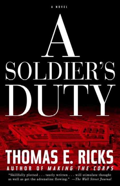 A Soldier's Duty: A Novel cover