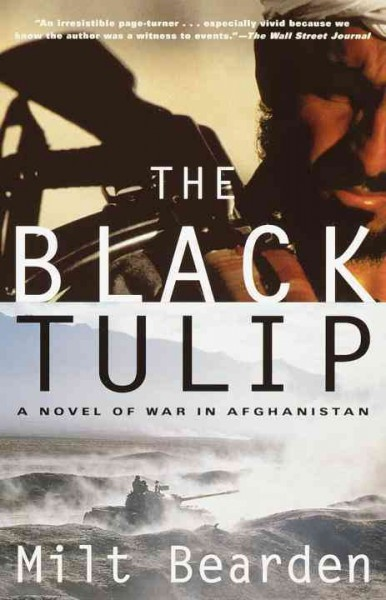 The Black Tulip: A Novel of War in Afghanistan cover