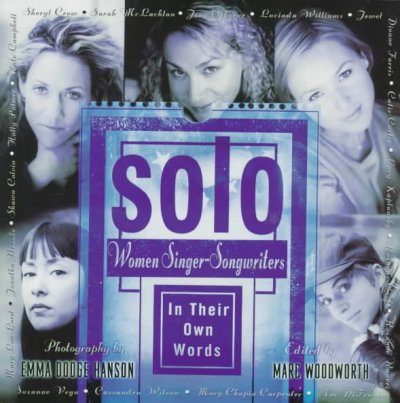 Solo: Women Singer-Songwriters in Their Own Words cover