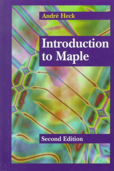 Introduction to Maple cover