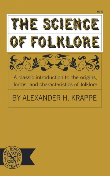 The Science of Folklore cover