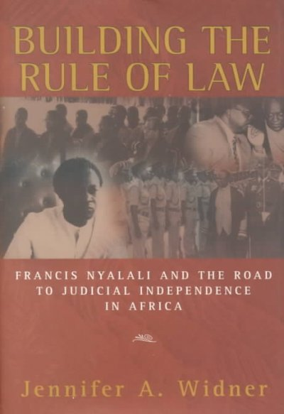 Building the Rule of Law cover