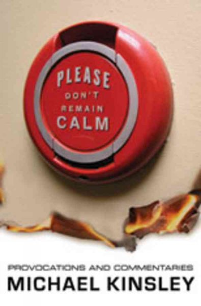 Please Don't Remain Calm: Provocations and Commentaries cover