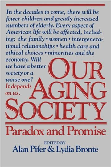 Our Aging Society cover