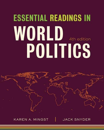 Essential Readings in World Politics (Fourth Edition) (The Norton Series in World Politics) cover