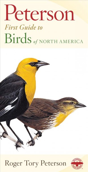 Peterson First Guide to Birds of North America cover