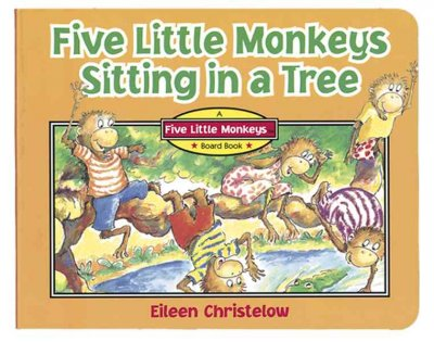 Five Little Monkeys Sitting in a Tree cover