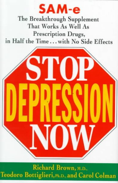 Stop Depression Now cover