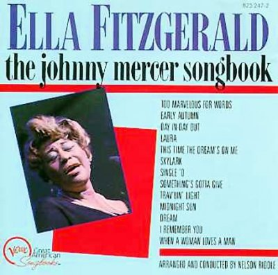 Ella Fitzgerald Sings The Johnny Mercer Songbook cover