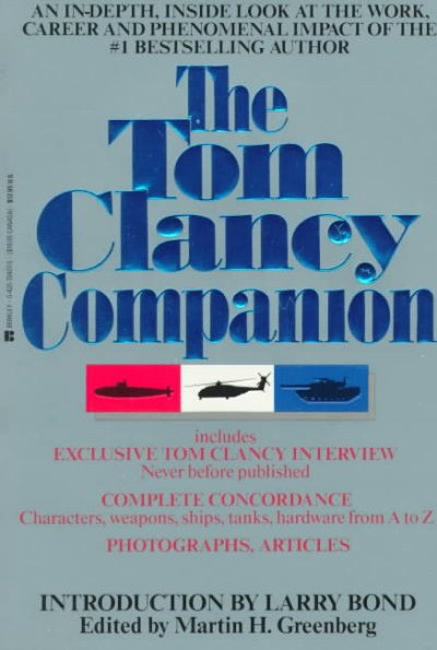 The Tom Clancy Companion cover
