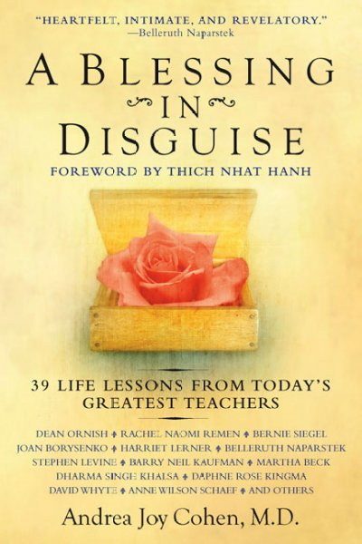 A Blessing in Disguise: 39 Life Lessons from Today's Greatest Teachers cover