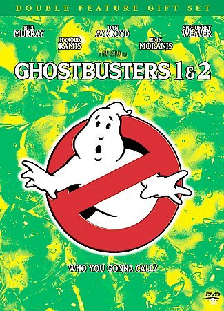 Ghostbusters Double Feature Gift Set (Ghostbusters / Ghostbusters 2 + Commemorative Book) cover